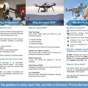 CPS Accidental Drone Warranty Protection