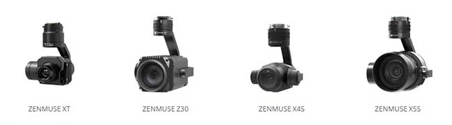DJI Matrice Series Zenmuse XT2 and other Camera Options