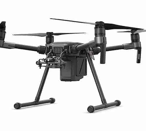 DJI Matrice m210 facing left