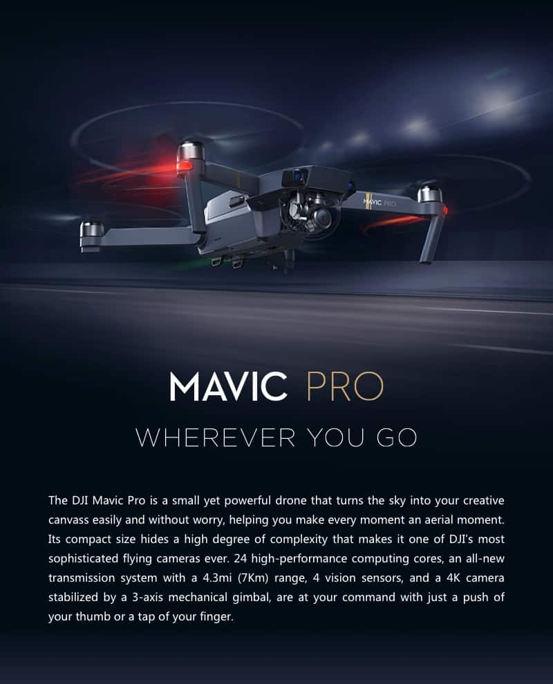 Mavic Pro Wherever You Go
