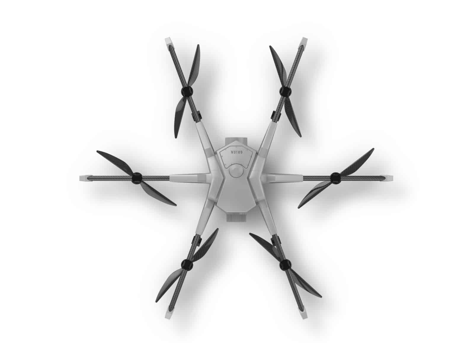 Orion UAV Tethered Drone From Above
