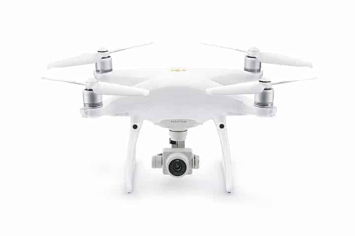 DJI Phantom 4 Pro version 2 Camera Front View
