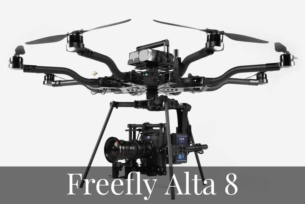 Freefly ALTA 8 - Top Professional Drones For UAV Pilots in 2020