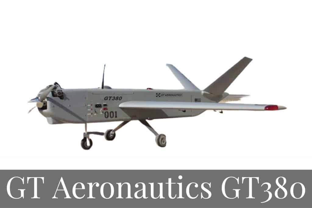 GT aeronautics GT380 - Top Professional Drones For UAV Pilots in 2020